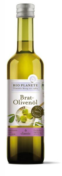 *Bio Brat-Olivenöl (0,5l) BIO PLANÈTE