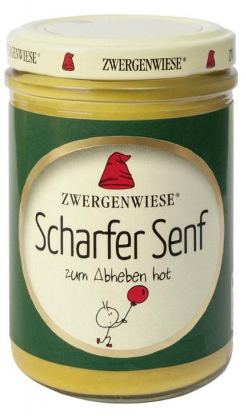 *Bio Scharfer Senf (160ml) Zwergenwiese
