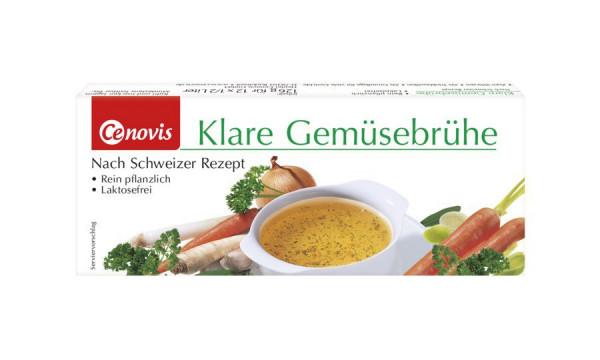 Klare Gemüsebrühe Würfel (4x12St) Cenovis