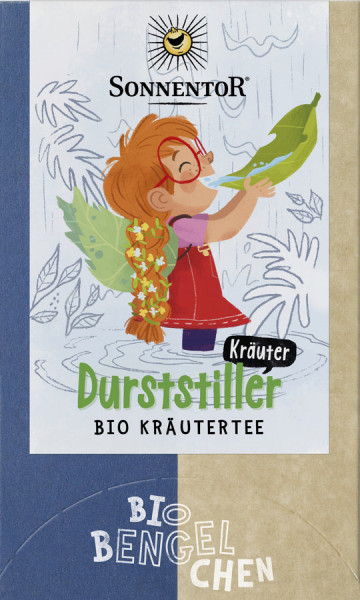 *Bio Durststiller Kräuter Tee Bio-Bengelchen®, Doppelkammerbeutel (32,4g) Sonnentor