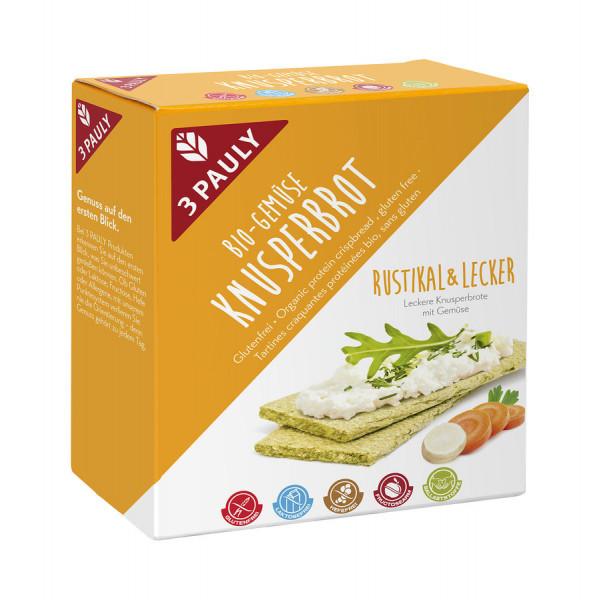 *Bio Bio Knusperbrot Gemüse (100g) 3PAULY