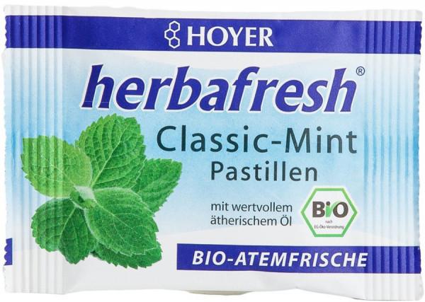 *Bio herbafresh Classic-Mint Pastillen (17g) Hoyer