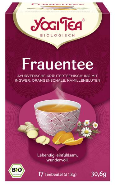 *Bio Yogi Tea® Frauentee Bio (17x1,8g) Yogi Tea®, Yogi Tea GmbH