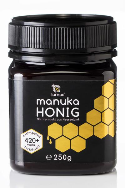 Manuka Honig 420+ (250g) Larnac