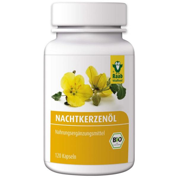 *Bio Bio Nachtkerzenöl Kapseln (89,2g) Raab Vitalfood