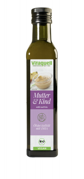*Bio Mutter & Kind-Öl Bio + DHA (250ml) Vitaquell