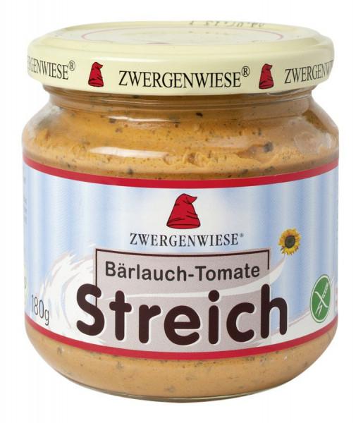 *Bio Bärlauch-Tomate Streich (180g) Zwergenwiese
