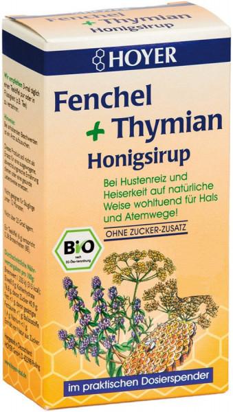 *Bio Fenchel & Thymian Honigsirup (250g) Hoyer