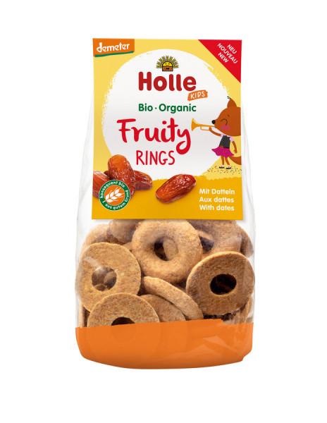*Bio Fruity Rings mit Datteln (125g) Holle