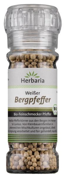 *Bio Weißer Bergpfeffer bio Mühle (55g) HERBARIA