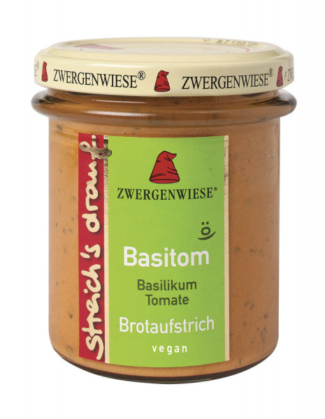 *Bio streich´s drauf Basitom (160 g) Zwergenwiese