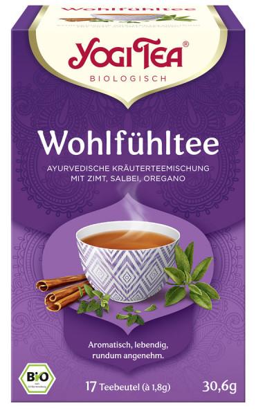 *Bio Yogi Tea® Wohlfühltee Bio (17x1,8g) Yogi Tea®, Yogi Tea GmbH