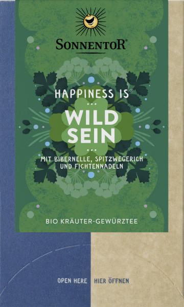 *Bio Wild sein Tee Happiness is®, Doppelkammerbeutel (27g) Sonnentor