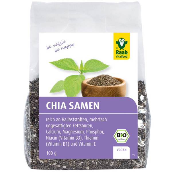 *Bio Bio Chia-Samen (100g) Raab Vitalfood