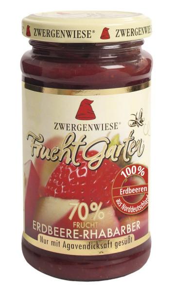 *Bio FruchtGarten Erdbeere-Rhabarber (225g) Zwergenwiese