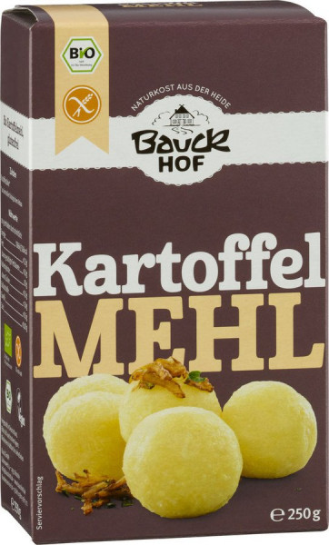 *Bio Kartoffelmehl (Stärke) glutenfrei Bio (250g) Bauckhof