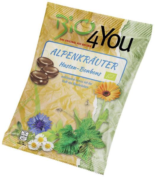 *Bio Bio-Bonbon-Alpenkräuter, Hustenbonbon (75g) Bio4You