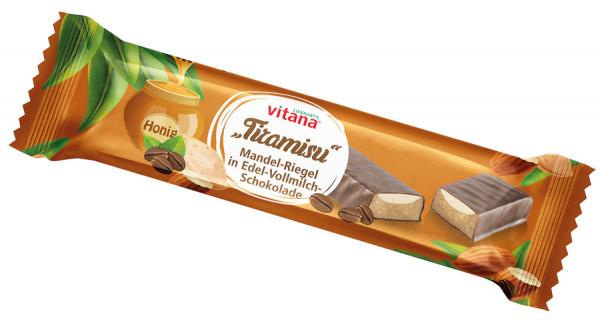 *Bio Bio-Tiramisu Riegel mit Vollmilch-Schokolade überzogen (40g) Vitana