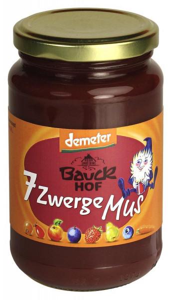 *Bio 7 Zwerge Mus ungesüßt Demeter (360g) Bauckhof
