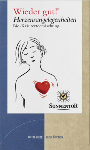 *Bio Herzensangelegenheiten® Tee Wieder gut!®, Doppelkammerbeutel (27g) Sonnentor