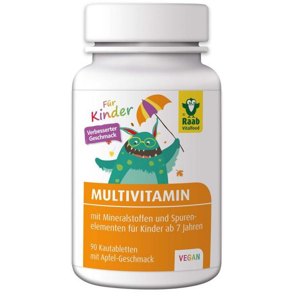 Vitamin Multivitamin für Kinder ''Apfel'' (108g) Raab Vitalfood