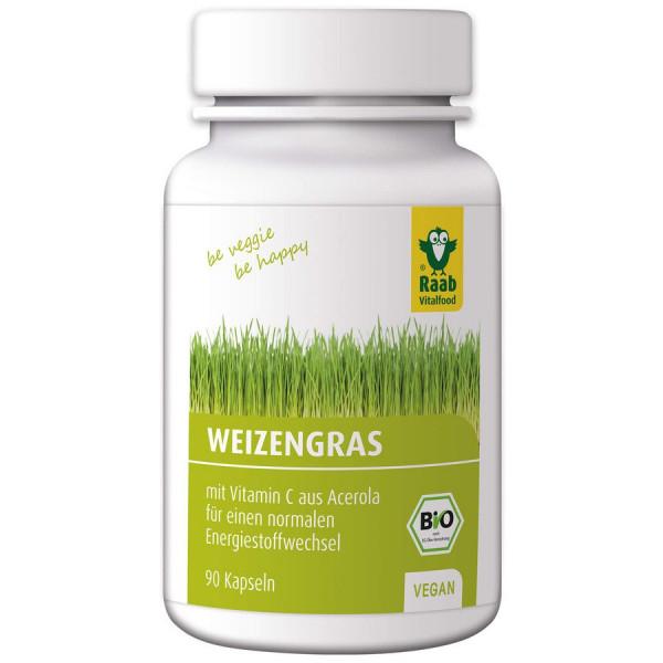 *Bio BIO Weizengras Kapseln (27g) Raab Vitalfood