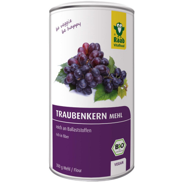 *Bio BIO Traubenkernmehl (140g) Raab Vitalfood