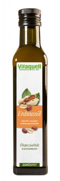 Erdnuss-Öl geröstet, kaltgepresst (0,25l) Vitaquell
