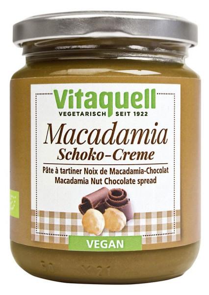*Bio Macadamia-Schoko-Creme Bio (250g) Vitaquell