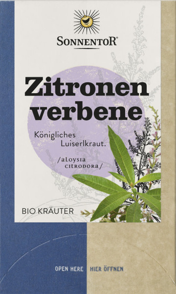 *Bio Zitronenverbene, Doppelkammerbeutel (27g) Sonnentor