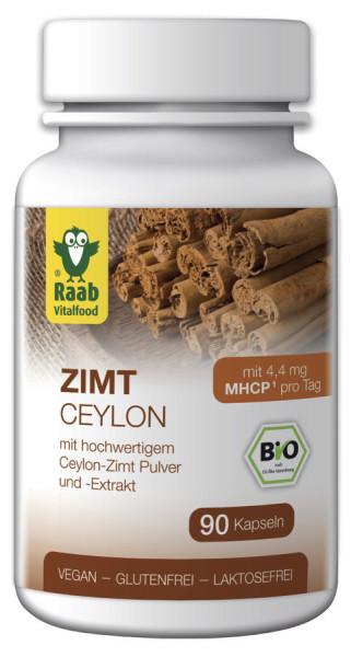 *Bio BIO Zimt 90 Kapseln à 450 mg (40,5g) Raab Vitalfood