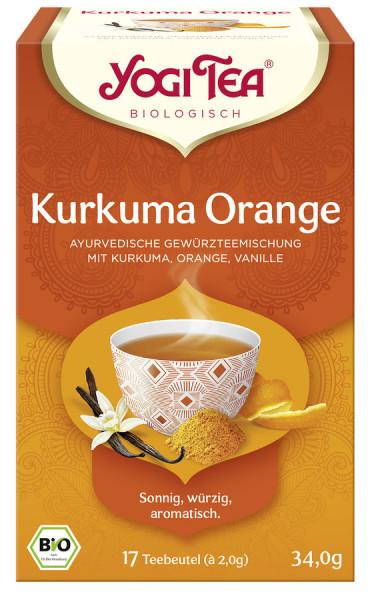 *Bio Yogi Tea® Kurkuma Orange Bio (17x2,0g) Yogi Tea®, Yogi Tea GmbH
