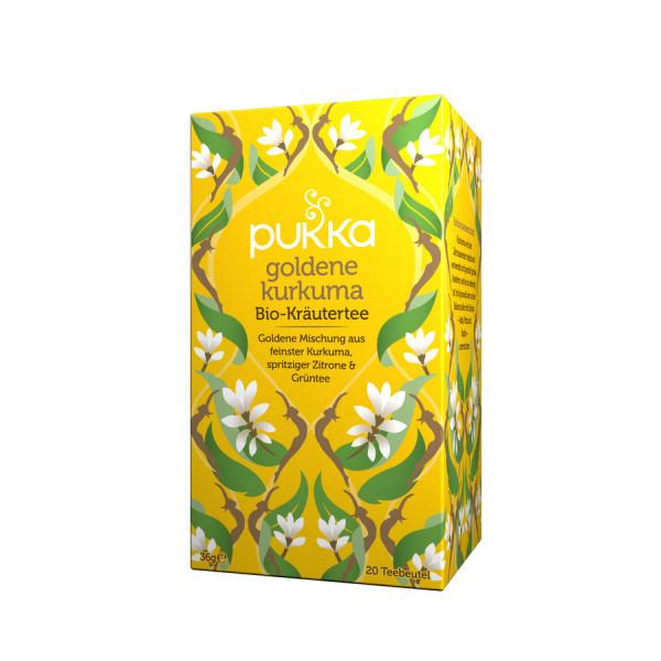 *Bio Goldene Kurkuma (20x1,8g) Pukka
