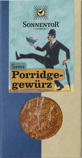 *Bio Sams Porridge Gewürz, Packung (70g) Sonnentor