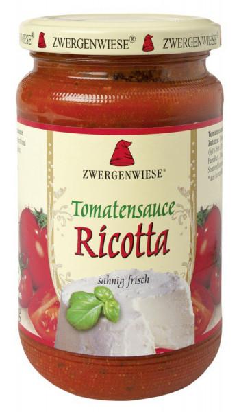*Bio Tomatensauce Ricotta (340ml) Zwergenwiese