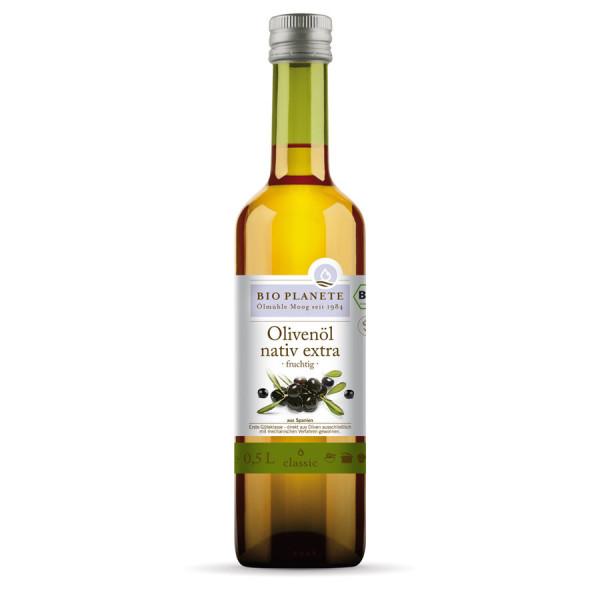 *Bio Olivenöl fruchtig nativ extra (0,5l) BIO PLANÈTE