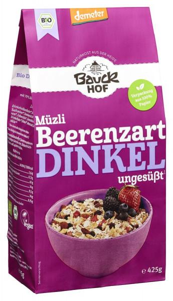 *Bio Dinkel Müzli Beerenzart Demeter (425g) Bauckhof