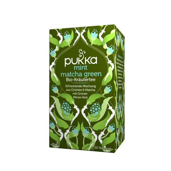 *Bio Mint Matcha Green (20x1,5g) Pukka