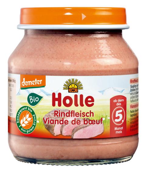 *Bio Rindfleisch Fleischzubereitung (125g) Holle