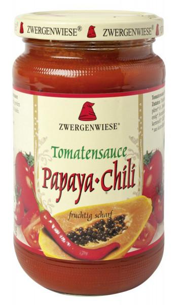 *Bio Tomatensauce Papaya-Chili (340ml) Zwergenwiese