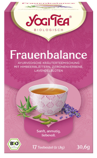 *Bio Yogi Tea® Frauenbalance Bio (17x1,8g) Yogi Tea® , Yogi Tea GmbH