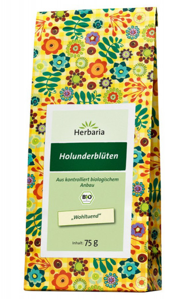 *Bio Holunderblüten bio (75g) HERBARIA