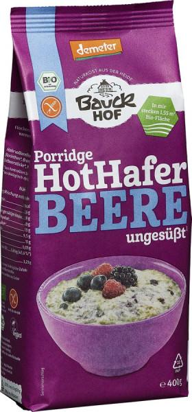 *Bio Hot Hafer Beere glutenfrei Demeter (400g) Bauckhof