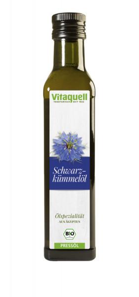 *Bio Bio Schwarzkümmel-Öl nativ, kaltgepresst (250ml) Vitaquell