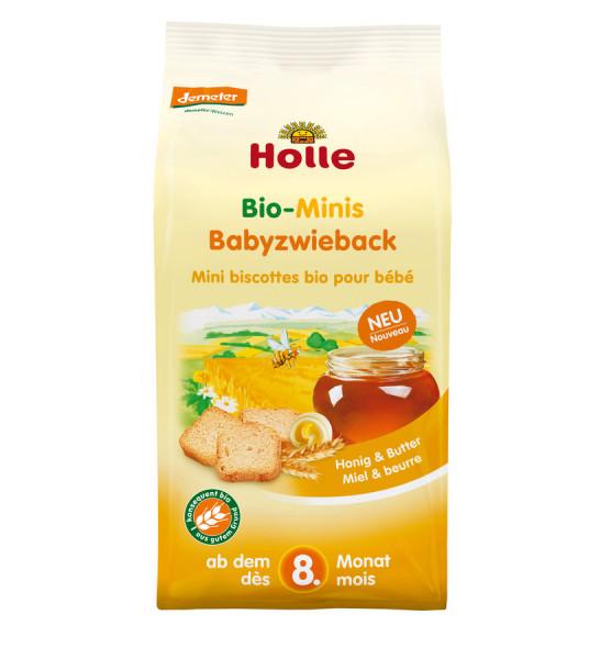 *Bio Holle Bio-MINIS Babyzwieback (100g) Holle