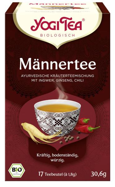 *Bio Yogi Tea® Männer Tee Bio (17x1,8g) Yogi Tea® , Yogi Tea GmbH