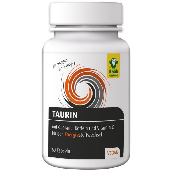 Taurin mit Guarana und Koffein (39g) Raab Vitalfood
