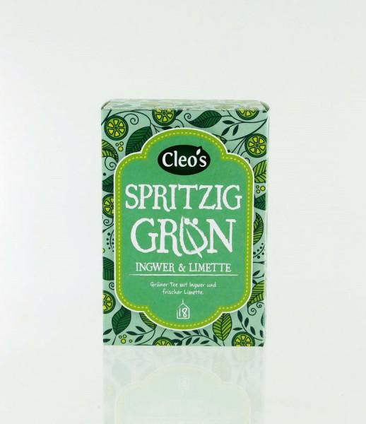 *Bio Spritzig Grün (18 x 1,5g) Cleo's