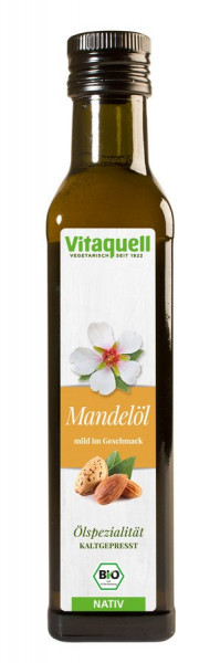 *Bio Mandel-Öl Bio nativ, kaltgepresst (250ml) Vitaquell