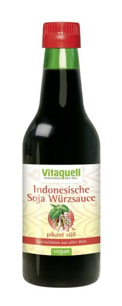 *Bio Indonesische Soja Würzsauce Bio (250ml) Vitaquell